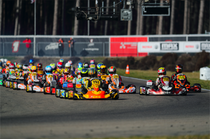 Bumper grids set for BNL Karting Series at Genk
