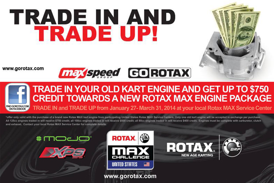 MaxSpeed to offer trade in program for new Rotax motors