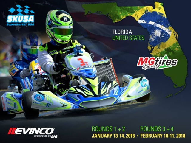 Florida series 2018: Rok Cup Promotions and SKUSA together to schedule events