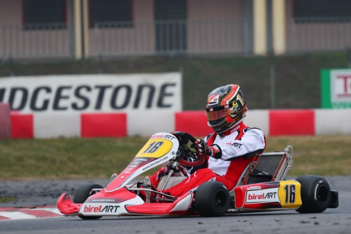 A special F1 driver tested with us at Lonato