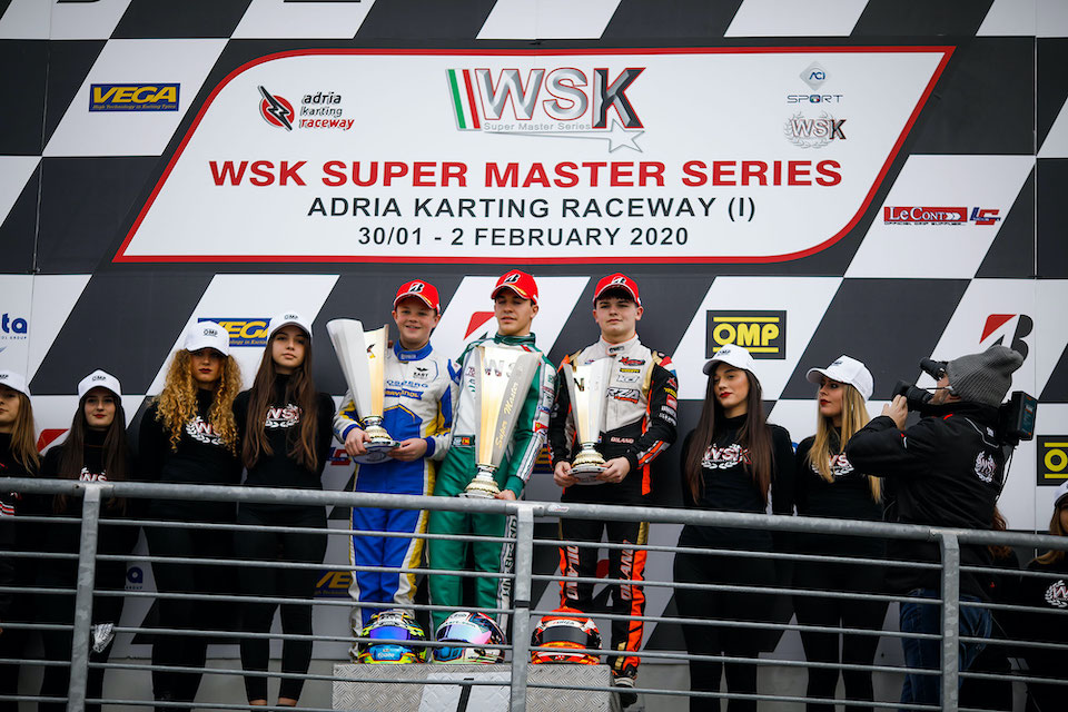 Forza Racing on the podium in the Super Master Series of Adria