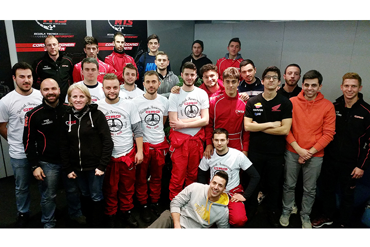 CRG and MTS joined forces to train  the new karting technicians