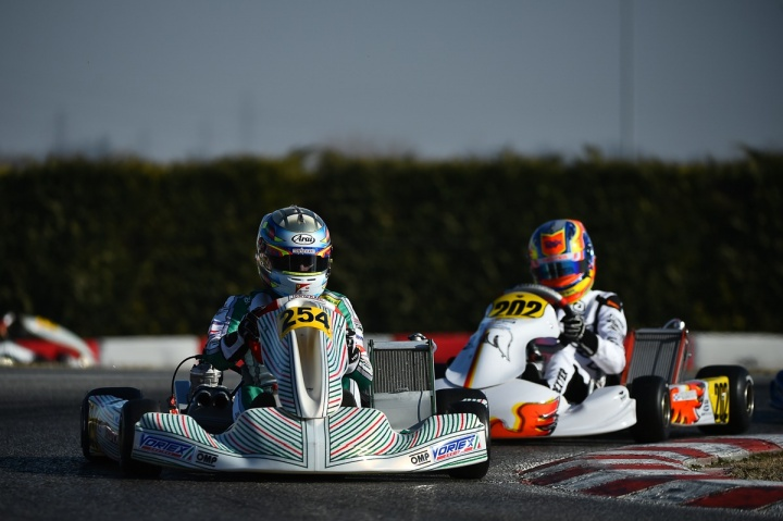 Only accidents stop Tony Kart from victories in Lonato