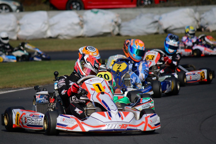 New Zealand Rotax MAX Challenge, Rotorua Raceway - Rnd 5 & 6, May 21 2017