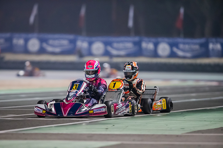 CIK-FIA OK World Championship final race video