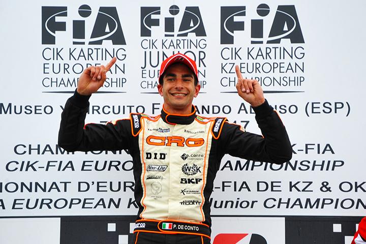 CIK-FIA KZ, OK and OK Junior European Championships - Provisional standings
