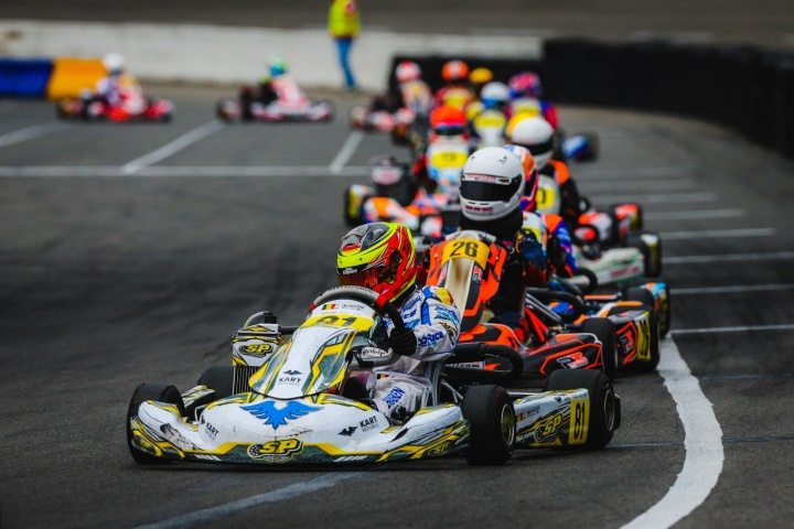 Braeken's adventure in Junior started well in the Dutch Championship
