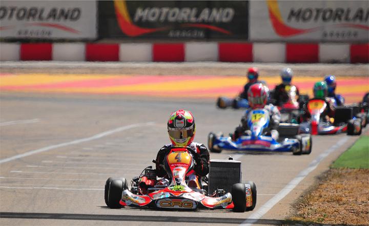 Pedro Hiltbrand KZ2 Spanish Champion  on CRG-Maxter