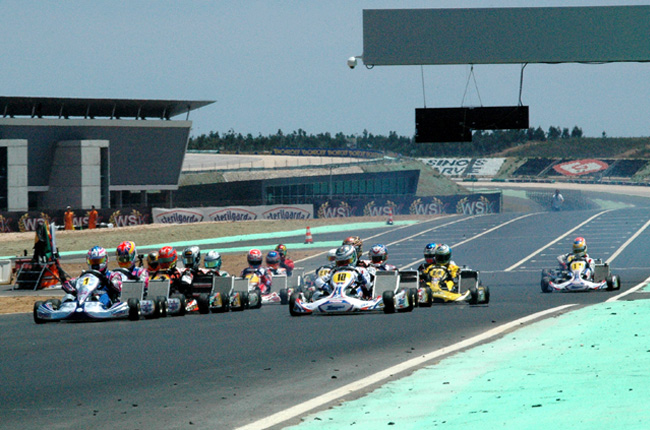 European CIK-FIA Championship for KF & KFJ ready to start