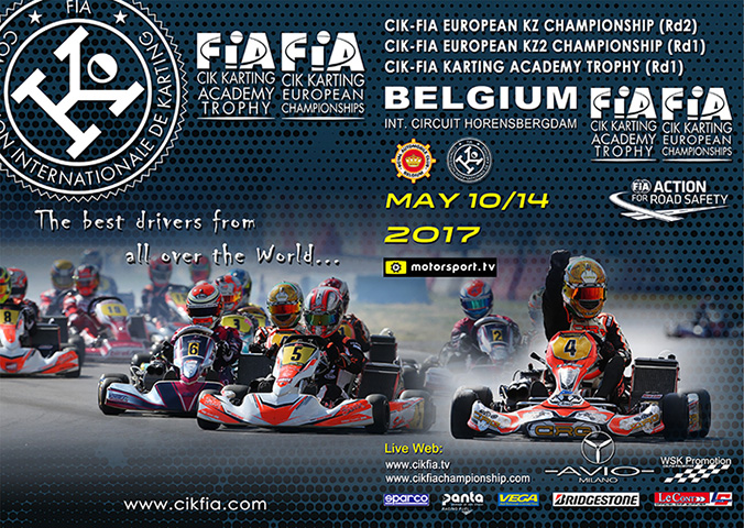 CIK-FIA European Championship ready to start in Genk
