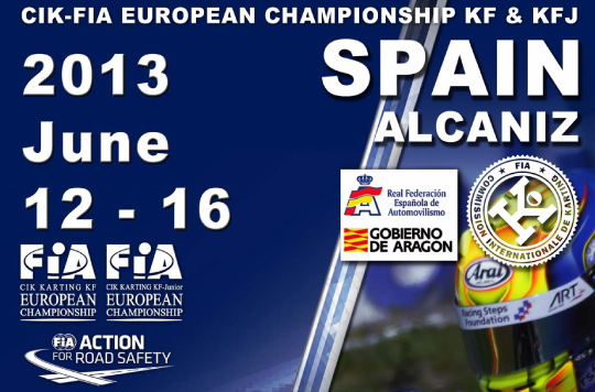 European Championship: Now for KF & KF-Junior at Alcaniz