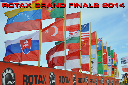 2014 Rotax Grand Finals in Valencia!
