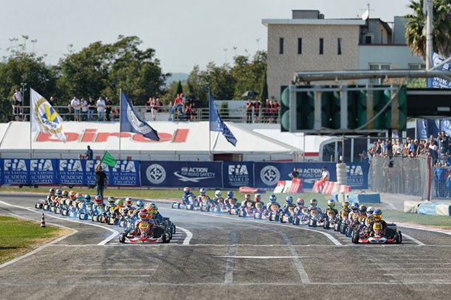 The European season starts in Sarno