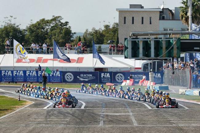 The European season starts in Sarno