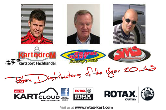 Rotax announces Distributors of the Year 2013