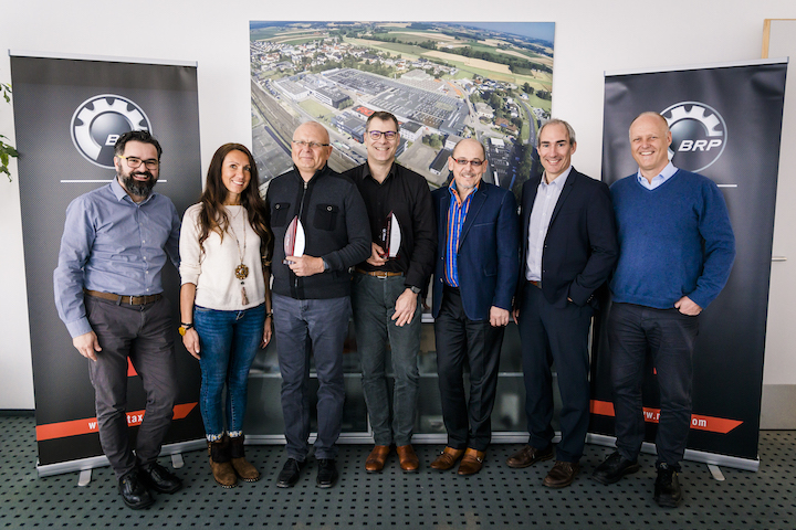 BRP-Rotax honoured its kart distributors of the year 2018