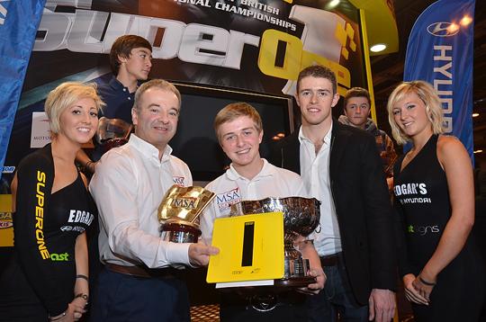World Champion McNish to present British Championship trophies at Autosport International