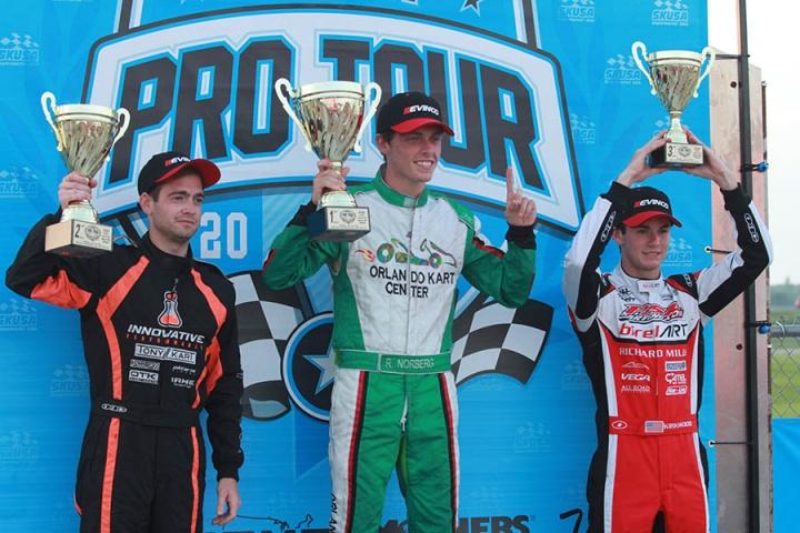 2016 Superkart! USA Pro Tour SummerNationals, New Castle Motorsports Park - Rounds 3 & 4, July 24 2016