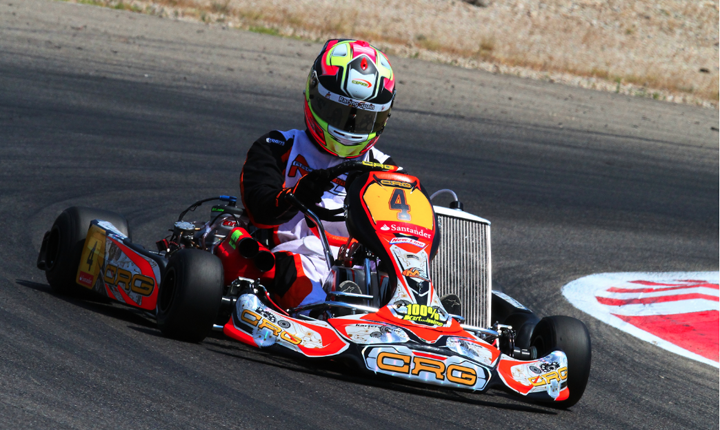 CRG-Maxter dominating the Spanish Championship with Pedro Hiltbrand