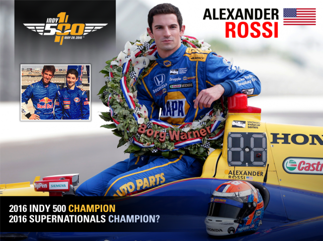 #SuperNats20 - Alexander Rossi joins the battle
