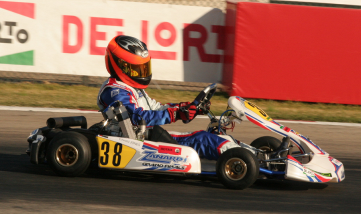 Jones returns to karting roots as Rotax Grand Finals wild card