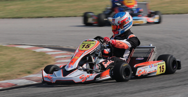 CIK-FIA Asia-Pacific KZ championship - Tom Leuillet dominates the second heat