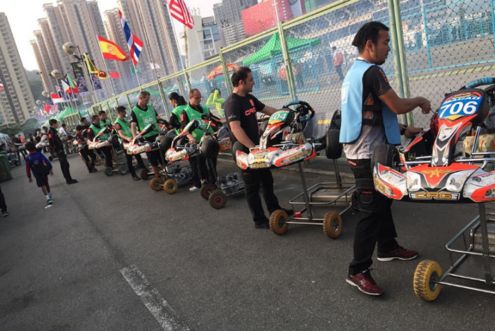 CRG Gamoto dominated  Mini Rok in Macau