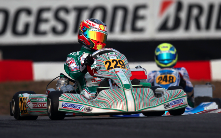 22nd Winter Cup double face for Tony Kart