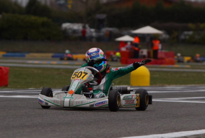 Success at 7 Laghi for Tony Kart
