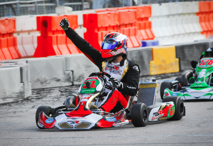 Danny Formal new Champion Kart Racing driver