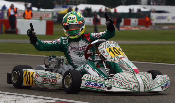 Pole, victory and first position in the European championship