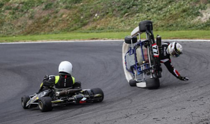 Karting is about sportmanship