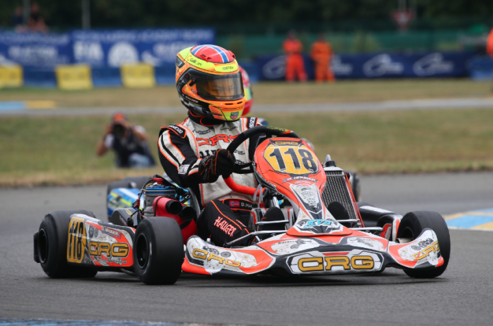 Good performance for CRG  with Hauger in Le Mans' OK