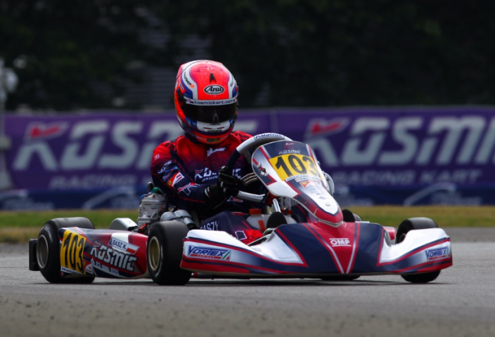 Six Kosmic Karts in top positions of OK class
