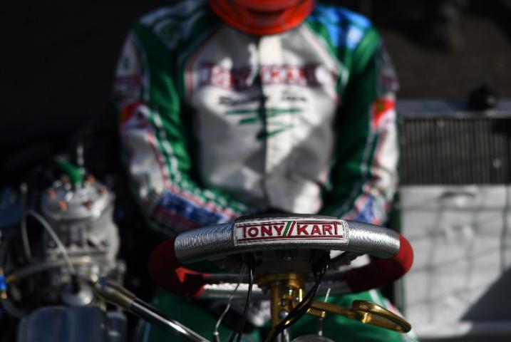 Tony Kart European KZ2 champion!