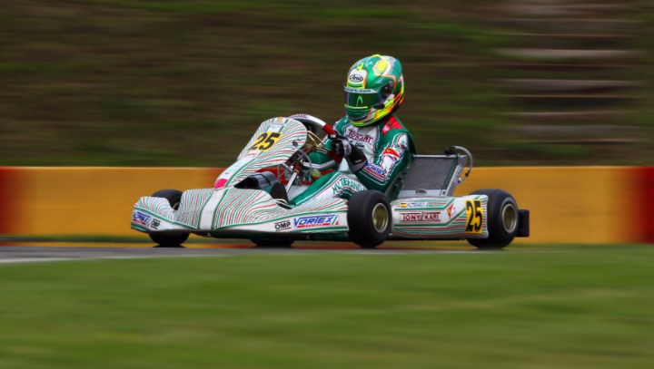 Tony Kart at the final stage of the World Competition for KZ