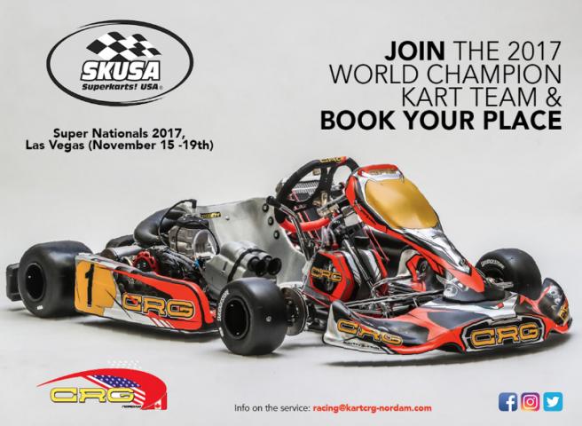 CRG Nordam announces Las Vegas' SKUSA Super National activities