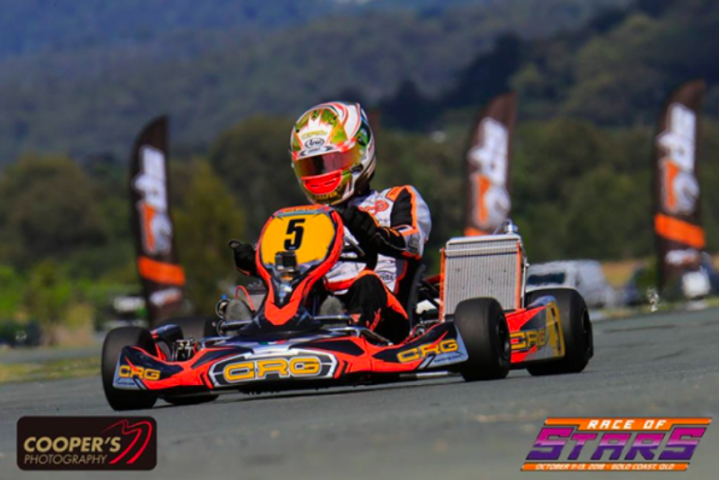 "CRG and Paolo De Conto  to the fore at the ""Race of Stars"""