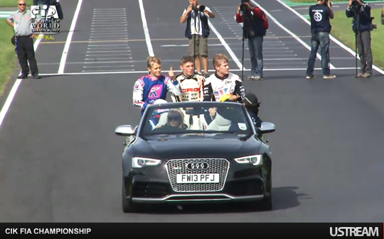 Verstappen bags World Champs opener final