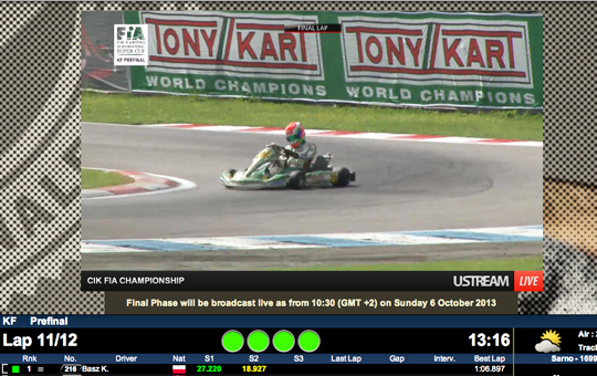 Basz wins KF prefinal in Sarno