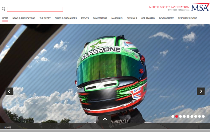 UK motor sport's governing body launches new website