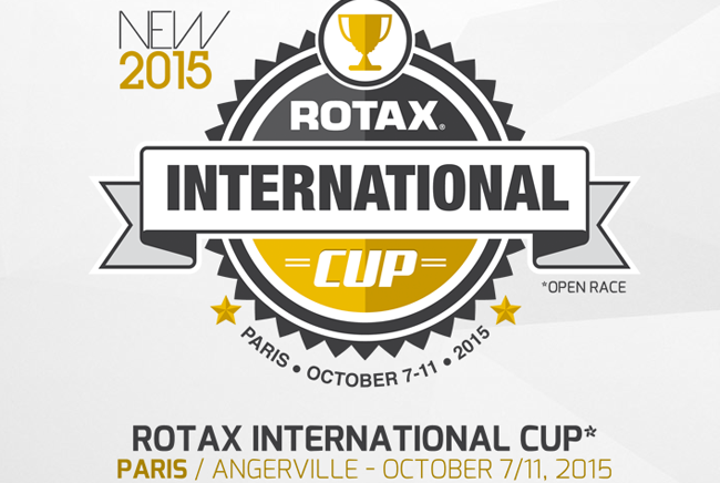Rotax International Cup announce event structure