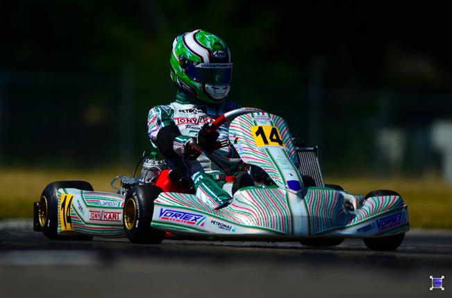 KZ European Championship - Camponeschi 1st, Ardigò 2nd