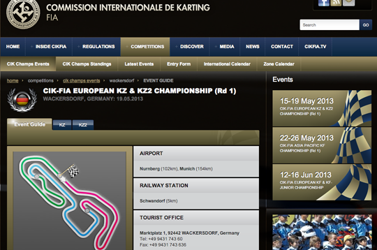CIK Euro KZ ready to rumble?