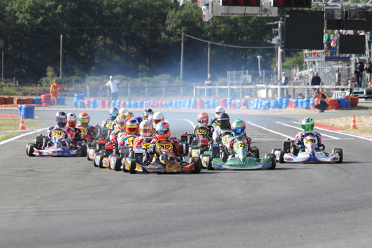 Rotax Max Euro Challenge crowned its champions