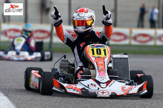 Vincent Fraïsse, X30 Europa champion with Sodi!