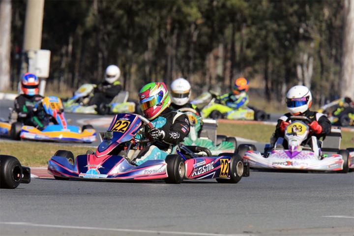 Stewart sisters head Kiwi entry at Aussie kart champs final
