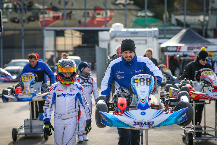Tom Braeken is ready for the WSK Champions Cup