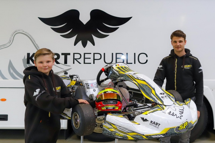 Tom Braeken with SP Motorsport to prepare him for Junior