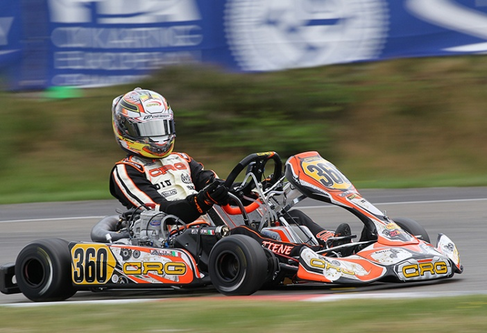 CIK-FIA Int. KZ2 Super Cup, Kristianstad – Prefinal 2